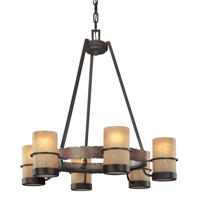 Bamboo 6 Light Chandelier