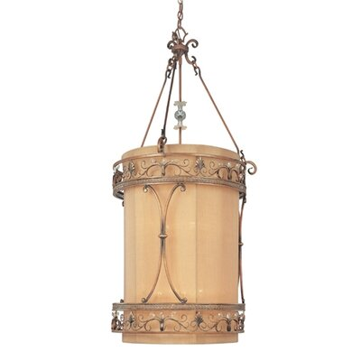 Troy Lighting Heirloom 8 Light Drum Foyer Pendant