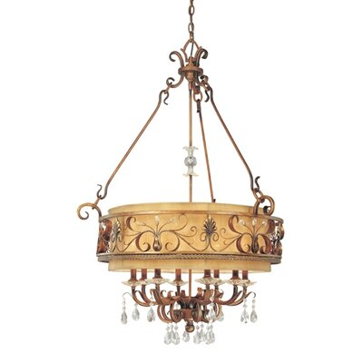 Heirloom 8 Light Chandelier