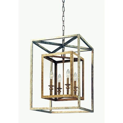 Morgan 4 Light Foyer Pendant