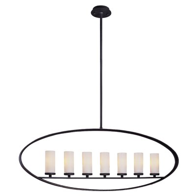 Troy Lighting Eclipse 7 Light Oval Pendant