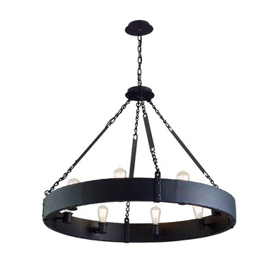 Troy Lighting Jackson 8 Light Large Pendant