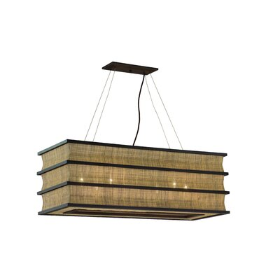 Troy Lighting Bento 6 Light Kitchen Island Pendant