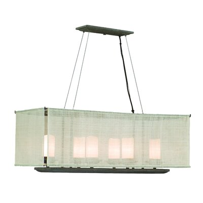 Raffia 6 Light Pendant Island