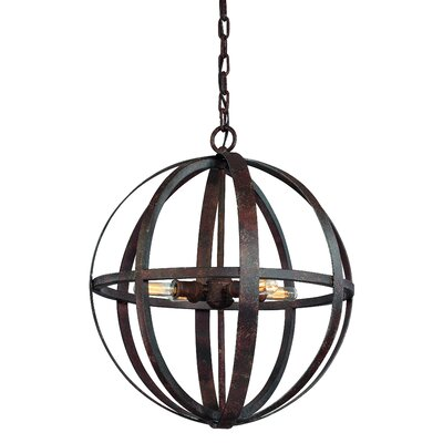 Flatiron 4 Light Medium Foyer Pendant
