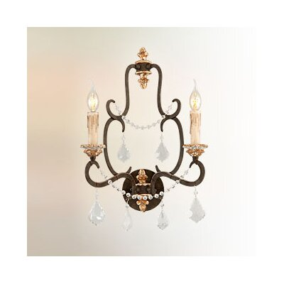 Troy Lighting Bordeaux 2 Light Wall Sconce