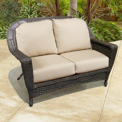 North Cape International Augusta Loveseat with Cushions