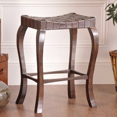 William Sheppee Binks 30&quot; Bar Stool in Walnut Stain