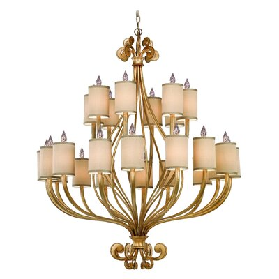Corbett Lighting Pinot 24 Light Chandelier