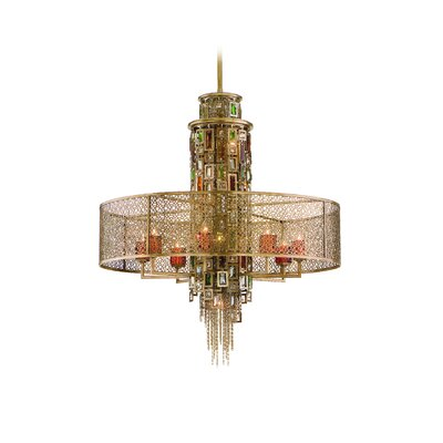 Corbett Lighting Riviera Drum Pendant