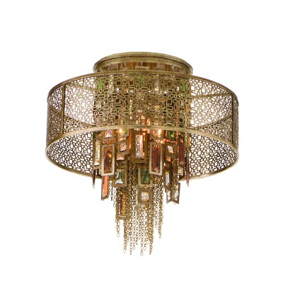 Corbett Lighting Riviera Semi Flush Mount