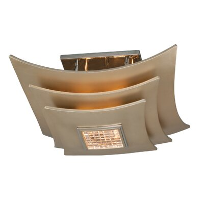 Corbett Lighting Muse 3 Light Semi-Flush Mount