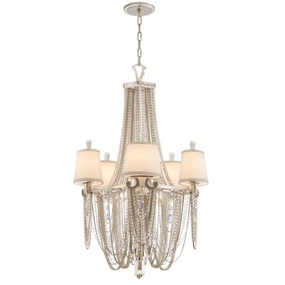 Flirt 5 Light Crystal Chandelier