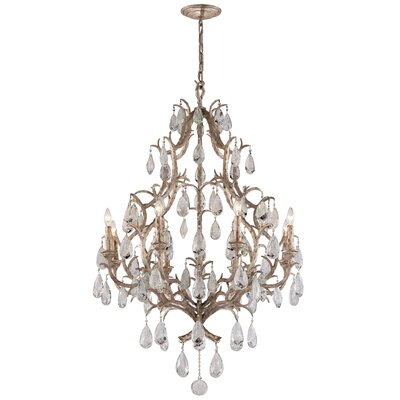 Amadeus 8 Light Crystal Chandelier