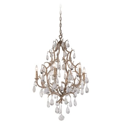 Amadeus 6 Light Crystal Chandelier
