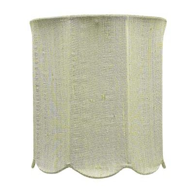 "Jubilee Collection 7.25"" Scallop Drum Shade"