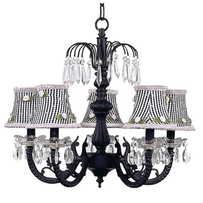 Chandelier with Optional Shade
