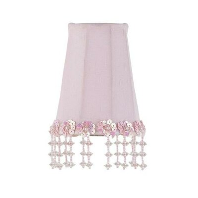Jubilee Collection Pearl Flower Sconce Shade in Pink