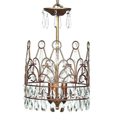 Jubilee Collection 3 Light Crown Chandelier
