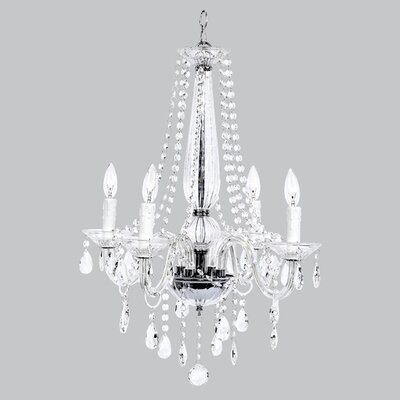 Middleton Glass 4 Light Chandelier