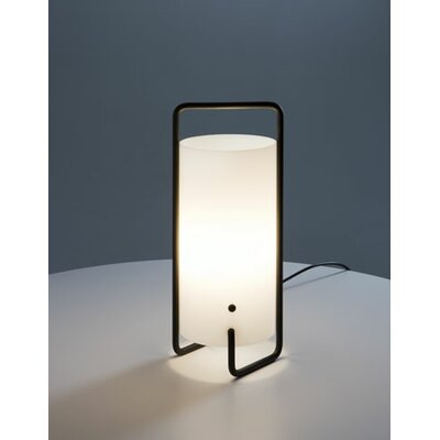 Santa & Cole Asa Table Lamp with Black Metal Structure