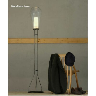 "Produzione Privata Metafisica 23.6"" H Table Lamp with Drum Shade"