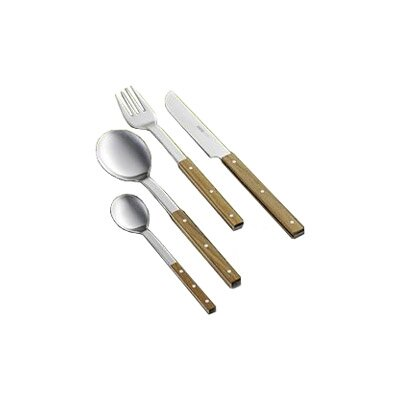 mono Mono-T Flatware with Short Blade Set by Peter Raacke