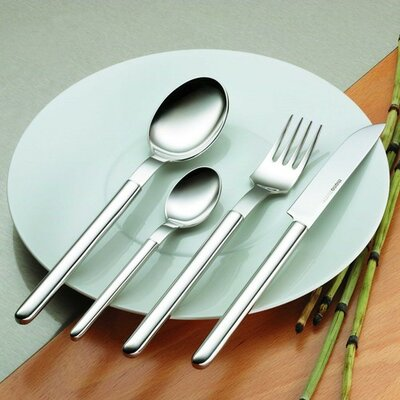 mono-Mono Oval Flatware Set by Peter Raacke