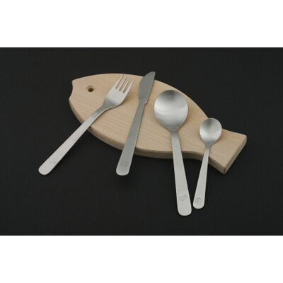 mono Mono Kids Petit Flatware with Cutting Board by Peter Raacke (Set of 4)