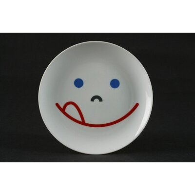 mono Mono Kids Porcelain Plate with Smile Child's by Mikaela Dörfel