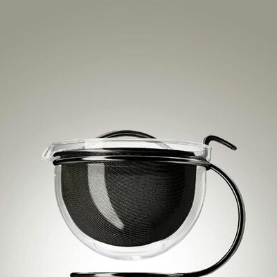 mono Mono Filio Edition Teapot in Black Polished by Tassilo von Grolman