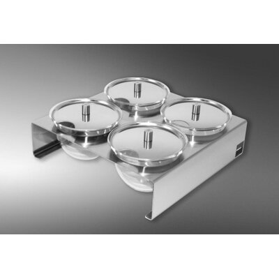 Mono Quadrolino Suspended Table Display with Lid