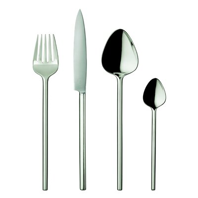 POTT 40 Collection Silver 20 Piece Flatware Set