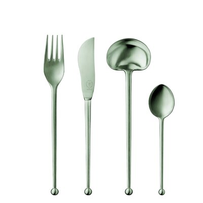 POTT 86 Collection Silver 5 Piece Flatware Set