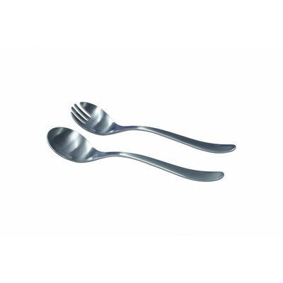 41 Collection Stainless Steel 2 Piece Salad Set