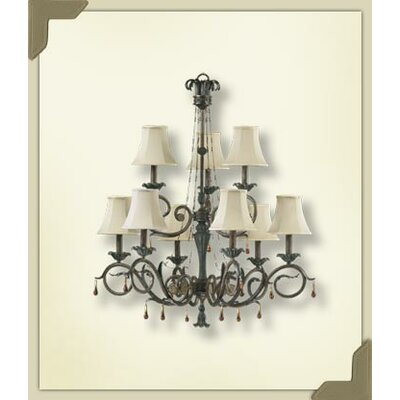 Quorum Wainwright 9 Light Chandelier
