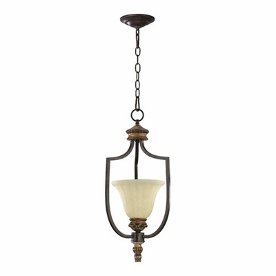 Quorum Capella 1 Light Mini Pendant
