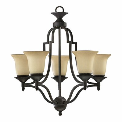 Quorum Coventry 5 Light Chandelier