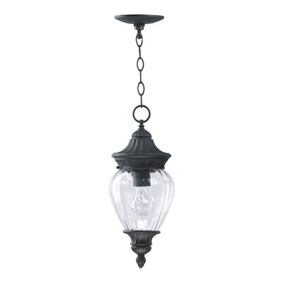 Quorum Dover  Pendant in Charcoal