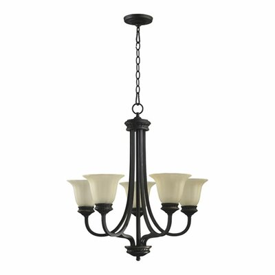 Quorum Hathaway 5 Light Chandelier