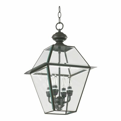 Quorum Duvall 4 Light Hanging Lantern
