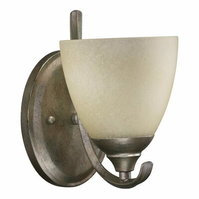 Quorum Powell 1 Light Wall Sconce