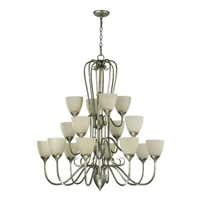 Quorum Powell 16 Light Chandelier