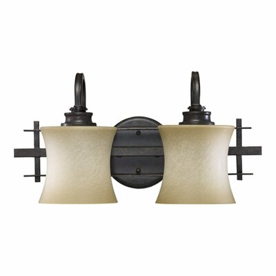 Quorum Prairie 2 Light Vanity Light