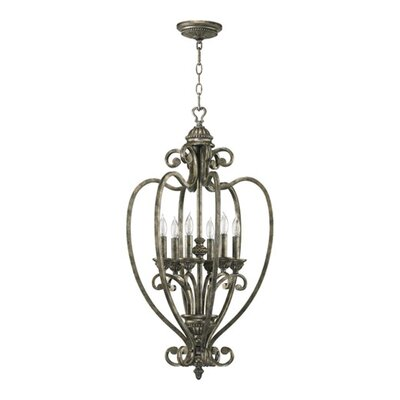 Quorum Summerset 6 Light Foyer Pendant