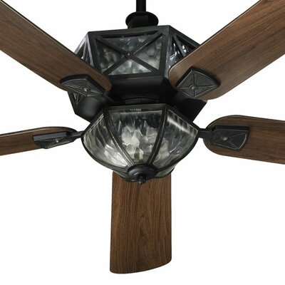 "Quorum 52"" Auburn 5 Blade Patio Ceiling Fan"