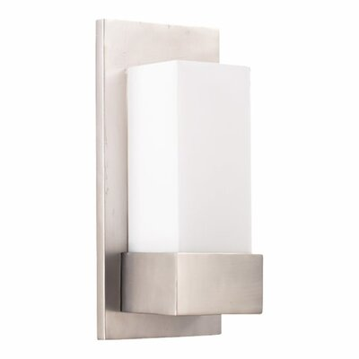 Quorum 1 Light U Channel Wall Sconce
