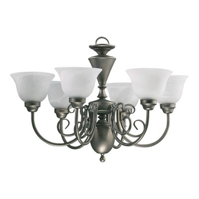 Quorum 6 Light Chandelier