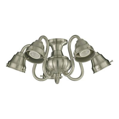 Quorum 5 Light Branched Ceiling Fan Light Kit