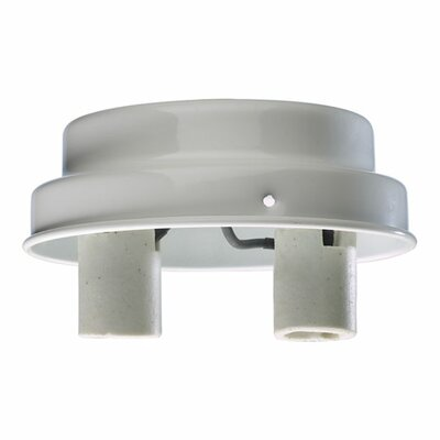 Quorum 2 Light Patio Fitter Ceiling Fan Light Kit